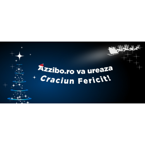 Azzibo.ro va ureaza Craciun Fericit!