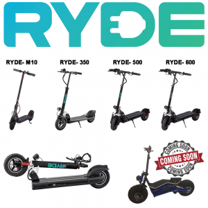 smart products. trotinete si scutere electrice RYDE