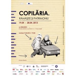 """pantomima. """"Copilaria. Ramasite si Patrimoniu"""" - Expozitie-semnal si atelier de pantomima la URBANESC"""
