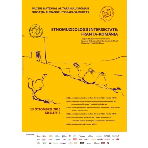 Etnomuzicologii intersectate: Franta – Romania la MNTR