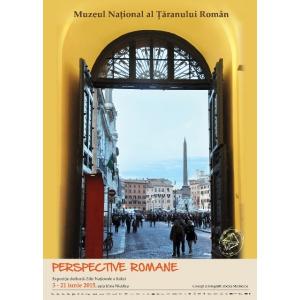 expozitie foto. Perspective romane - expozitie de fotografie la MNTR