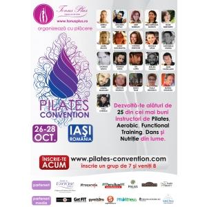 aerobic  pilates. Poster Conventie