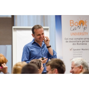 "Andy Szekely. ""De la Te cunosc la Cred în Tine!…"" - workshop de branding personal cu Andy Szekely"