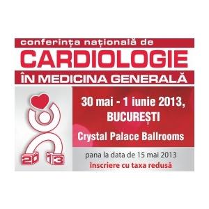Conferinta Nationala de Cardiologie in Medicina Generala – Editia 2013
