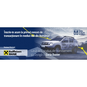 Au inceput inscrierile la primul concurs de tranzactionare in mediu real din Romania - Condus de Randament
