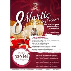Oferte noi pentru cupluri, doamne si domnisoare  in luna martie la Hotel IAKI, Mamaia