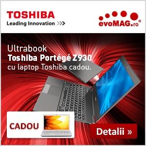 Ai aflat de promoție? Cumperi un ultrabook Toshiba și primești un laptop
