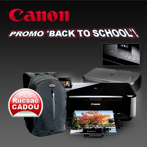 "campanie Book To School. ""Back to School"" cu evoMAG si Canon!"