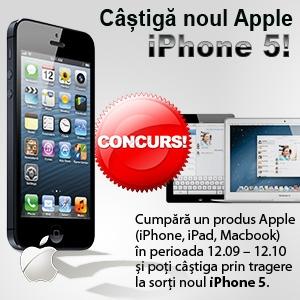 Castiga un iPhone 5 la evoMAG!