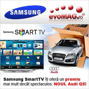 audi. evoMAG si Samsung ti-au  rezervat un premiu de senzatie: NOUL AUDI Q5