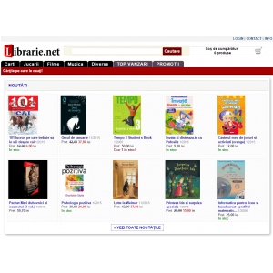 librarie. Black Friday 2015 la LIBRARIE.net