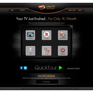adnet tv   adnet telecom  iptv  televiziune digitala ip tv lansare. IPTV prin AdNet TV – un nou concept de televiziune digitala, introdus de AdNet Telecom