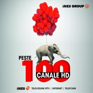 100 canale hd. Peste 100 de canale HD în grila iNES IPTV