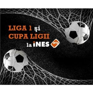 cupa ligii. Meciurile din Liga 1 si Cupa Ligii se vad la iNES IPTV!