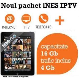 ipad2. Noul pachet iNES IPTV iti aduce Internet mobil pe tableta iPad 2