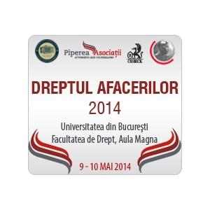 Universitatea. Conferinţa Dreptul Afacerilor 2014 - 9-10 mai 2014, Universitatea din Bucureşti, Facultatea de Drept, Aula Magna