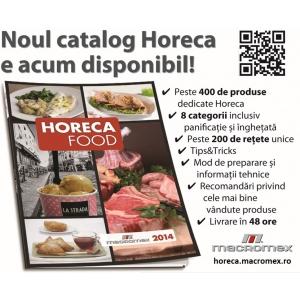 catalog horeca. Comanda Catalogul Macromex - Horeca Food 2014