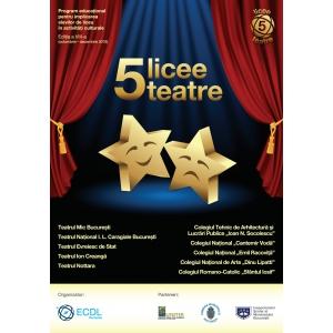 5 licee - 5 teatre aduce din nou adolescentii pe si in fata scenei