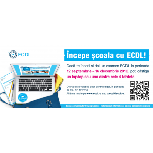 school. back to school, scoala, elevi, profesori, ECDL, computer, calculatoare, competente digitale, aptitudini, IT, IT&C, concurs, concurs ECDL, laptop, tablete, premii, castig, tineri, nativ digital, invatare, clasa