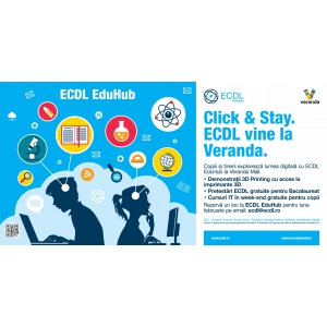 lumea digitala. ECDL, Hub, EduHub, IT, copii, tineri, elevi, 3D Printing, 3D, imprimante 3D, cursuri copii, pretestari, BAC, digital