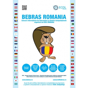 bebras. Bebras, Bebras Challenge, Bebras Romania, gandire computationala, programare creativa, elevi, profesori, scoli, concurs, programare, informatica, Uniunea Europeana, alfabetizare digitala, digitale