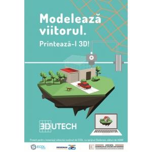 Lansare 3DUTECH. Imprimantele 3D ajung in scolile din Romania