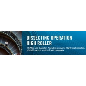 roller. Cel mai recent atac global - OPERATION HIGH ROLLER