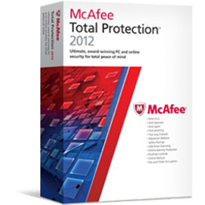 anti malware. McAfee Total Protection