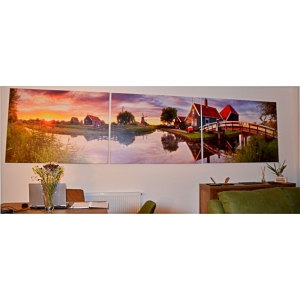 tablouri canvas personalizate. Tablou multicanvas 480x130cm
