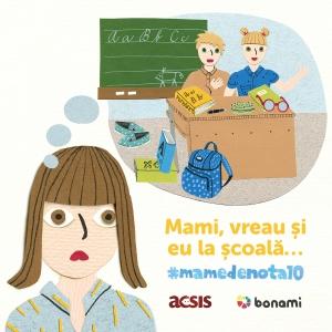 Bonami si ACSIS lanseaza campania #mamedenota10