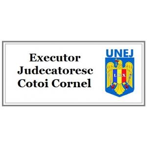 maria cotoi. Consiliere si solutii legale eficiente oferite de  Executor Judecatoresc Cotoi Cornel!