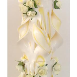 lumanari sculptate manual. Lumanarile de nunta sculptate de la Dragstar sunt secretul unui eveniment de vis