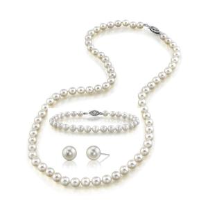 set bijuterii. Set Bijuterii cu perle- cadoul perfect pentru Ziua Indragostitilor!