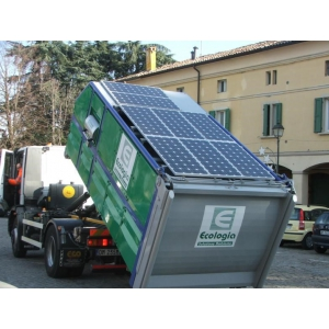 panouri fotovoltaice. Solutia inovativa in colectarea deseurilor utilizand panouri fotovoltaice