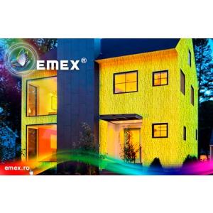 Tencuiala decorativa Emex cu durata de 10 ani garantat