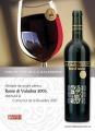 Byzantium Rosso di Valachia 2005, premiat cu argint la Concours Mondial de Bruxelles 2007