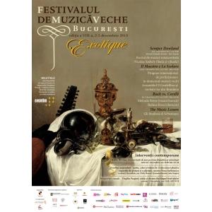 clavecin. Începe cea de-a opta ediţie a Festivalului de Muzică Veche Bucureşti,  2 - 5 decembrie 2013