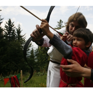 tabara pentru copii. Tabara medievala pentru copii