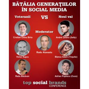 6 zile până la lansarea Topului Social Brands 2018, cele mai eficiente branduri din social media