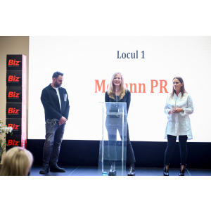 Pr. Topul agentiilor de PR Loc 1 McCann PR