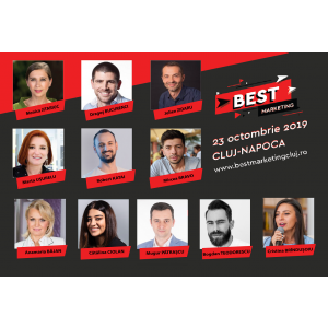Industria MarCom-ului se reunește la Best Marketing Cluj pe 23 Octombrie