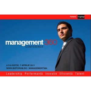management360. Revista Biz organizeaza forumul Management360