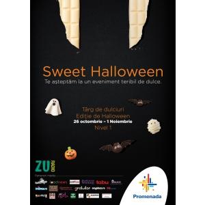 Cele mai fastuoase delicii dulci iti dau intalnire la targul Sweet Fest, editia de Halloween.
