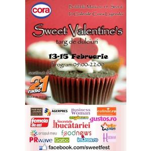 ziua indragostitilor 2014. Afis Sweet Valentine's Cora