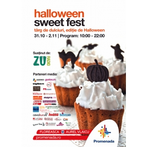 Sweet Fest de Halloween - un regal al dulciurilor alese la mall Promenada