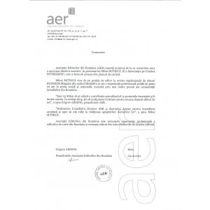 Asociația Editorilor din România anunță numirea noului Director Executiv
