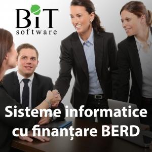 BERD. Sisteme integrate de gestiune cu finantare BERD