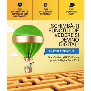 TeamSystem si BITSoftware invită companiile din IT la Digital Tour 2019