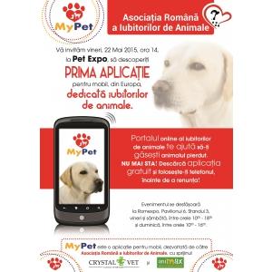 portal mobil. my pet, asociatia romana iubitorilor animale, aplicatie mobila