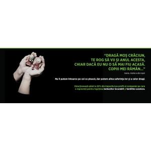 hospice. ''Dorință de Crăciun'' o nouă campanie  HOSPICE Casa Speranței